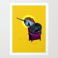 Get Off The Furniture, U… Art Print