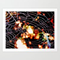 spider love Art Print