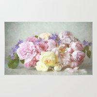 Vintage Roses Rug