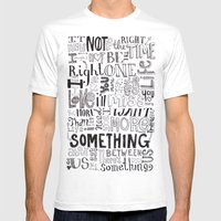 Something About Us Mens Fitted Tee White SMALL