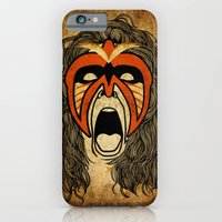 iPhone & iPod Case featuring The Ultimate Warrior by TinyBison