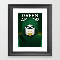 Oliver Queen Framed Art Print