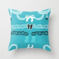 Tiffany Chains Throw Pillow