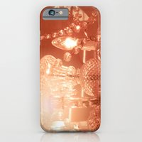 iPhone & iPod Case featuring cinnamon chandelier by helene smith photography