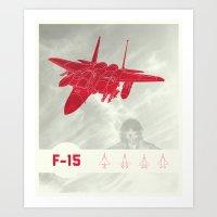 F-15 Art Print