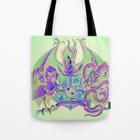 Guardian Forces Tote Bag