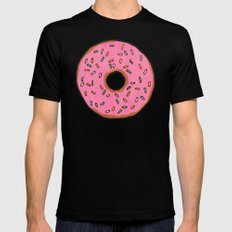 Donut Mens Fitted Tee Black SMALL
