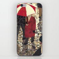 iPhone & iPod Skin featuring Bad weather (Mauvais temps) by Anastassia Elias