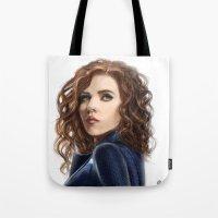 Black Widow....Avengers....Marvel.... Tote Bag
