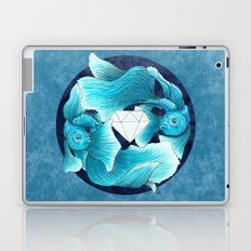 underwater guardians - fishes Laptop & iPad Skin