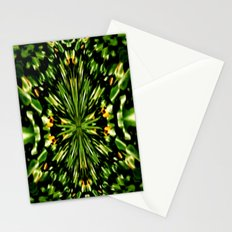 Water Lilies Kaleidoscope  Stationery Cards