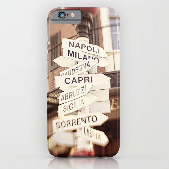 Lead me to Italy iPhone & iPod Case