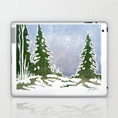 Snow and Evergreens Laptop & iPad Skin