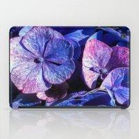 Purple Hydrangea iPad Case