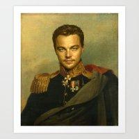 Leonardo Dicaprio - Repl… Art Print