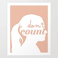 I don't count Art Print