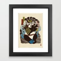 Pantoo Framed Art Print