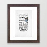 One Direction: Little Th… Framed Art Print