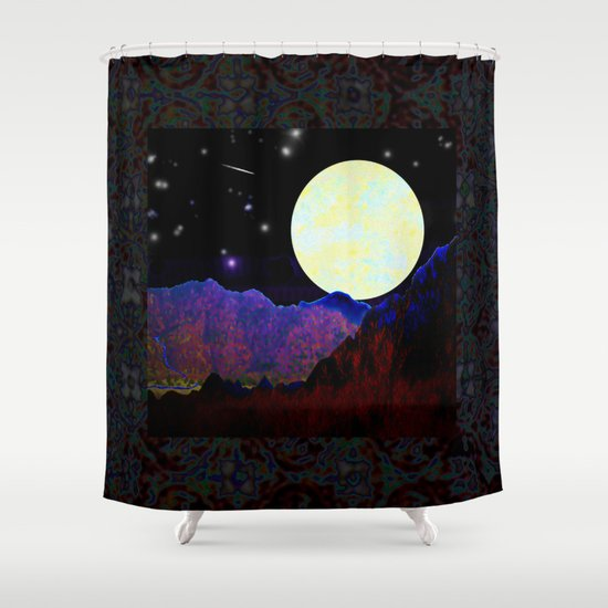 Valley of the Moon Shower Curtain
