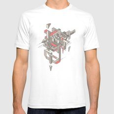 ASW SMALL Mens Fitted Tee White