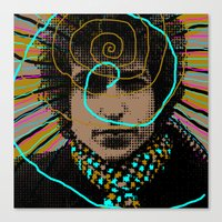 Bob Dylan Goin' Nowhere Canvas Print