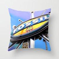 Fossil #2 Throw Pillow