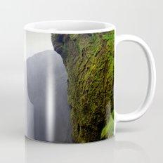 skogafoss waterfall, iceland. Mug