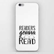 Readers Gonna Read iPhone & iPod Skin