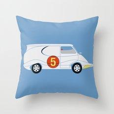 Tha Mach5 Van Throw Pillow