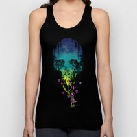 THE FORBIDDEN BUTTERFLIES Unisex Tank Top