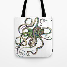 Octopsychedelia Tote Bag