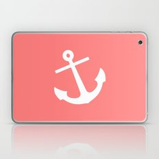 Coral Anchor Laptop & iPad Skin