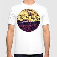 Under The Shade Of Yello… Mens Fitted Tee White SMALL