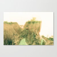 But Darling, You Mustn't… Canvas Print
