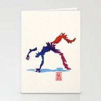 Capoeira 357 Stationery Cards