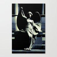 Art Deco Angel Canvas Print