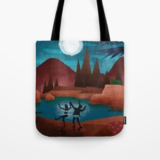 Moondance - Inspired by Wes Anderson's movie Moonrise Kingdom Tote Bag