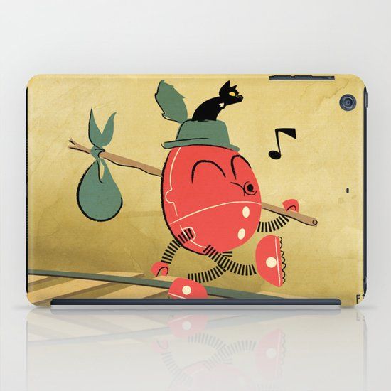 It's a Carefree Hobo Life iPad Case