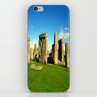 Stonehenge iPhone & iPod Skin