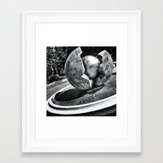 Fountain I Framed Art Print