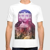 Thrice Christ Mens Fitted Tee White SMALL