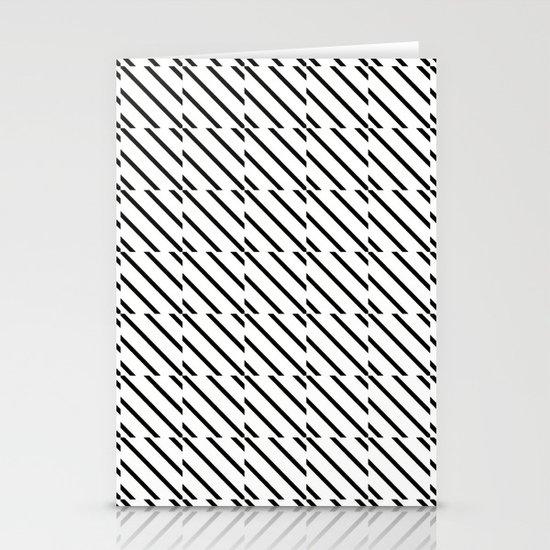 IJzerman Black & White Pattern Stationery Card
