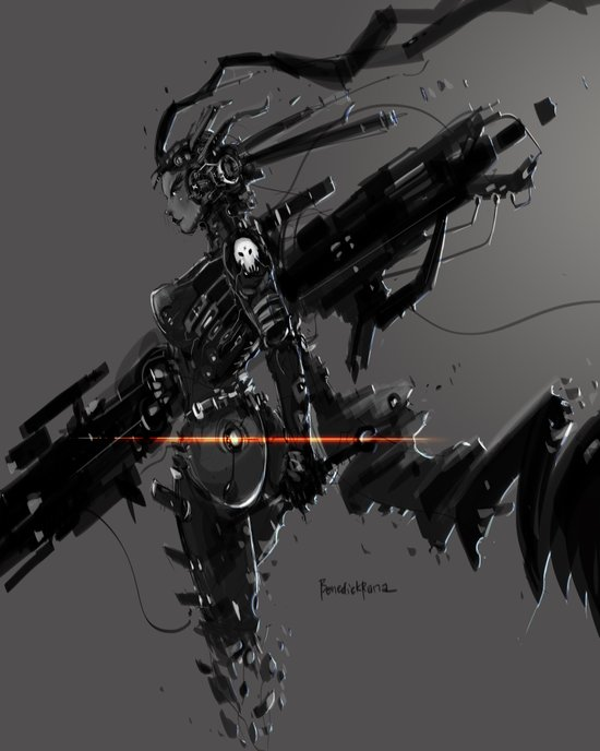 CyberGen Mechanic Art Print