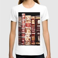 books T-shirts featuring Books by Regan's World