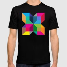 The Intersection Mens Fitted Tee Black SMALL