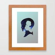 He Wished So Hard Framed Art Print