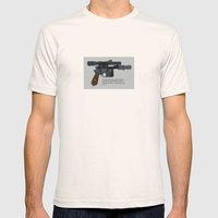 Solo Mens Fitted Tee Natural SMALL