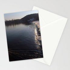 Across the Vltava River, Prague Stationery Cards