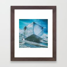 PRECIPICE (everyday 03.1… Framed Art Print
