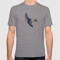 Swallow Mens Fitted Tee Tri-Grey SMALL